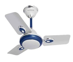 Fusion Silver Blue Ceiling Fan