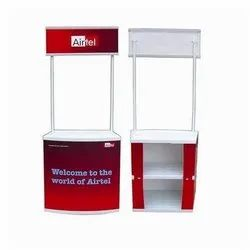 For Promotional PVC Promo Table, Size: 2*6 Feet