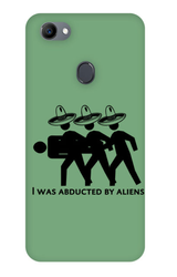 Abducted By Aliens Phone Case For Oppo F7 Mobile Covers