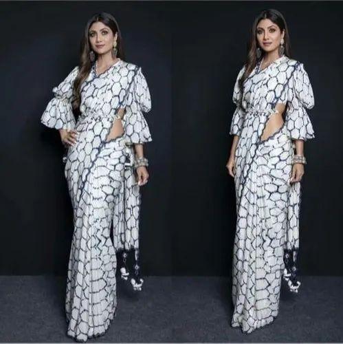 Bollywood Designer Party Wear Replica Saree