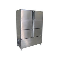 SS Six Door Vertical Commercial Refrigerator