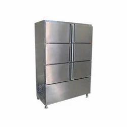 SS Six Door Vertical Commercial Refrigerator