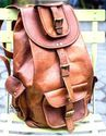 Leather Backpack, Genuine Leather Backpack, Vintage Leather Backpack, Handmade Leather Backpack