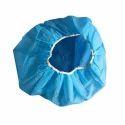 Blue Disposable Bouffant Cap, Size: Free Size