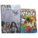 Paper Kids Birthday Party Invitation Card
