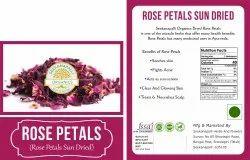 Seekanapalli Organics Rose Petals 500g
