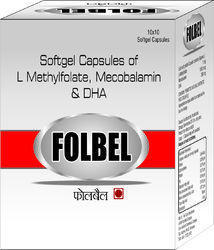 Softgel Capsules Of L Methylfolate Mecobalamin And Dha