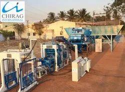 Multi Material Chirag Pallet Free Block Machine
