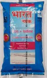 1 Kg Plastic Bag Bharat Double Fortified Salt
