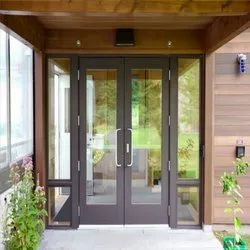 Aluminium Framed Glaze Door