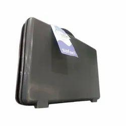 Plain Safari Polycarbonate Briefcase