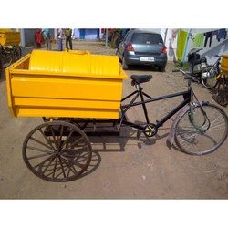 Garbage Cycle Rickshaw