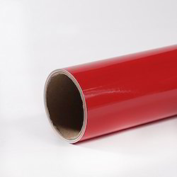 Red Vinyl Reflective Roll