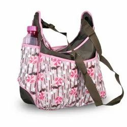 Sanchi Creation Baby Carry Nappy Diaper Multipurpose Bag with Multi Compartment Pink (Large)