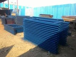 Hot Dipped Galvanized Mild Steel Scaffolding H Frame