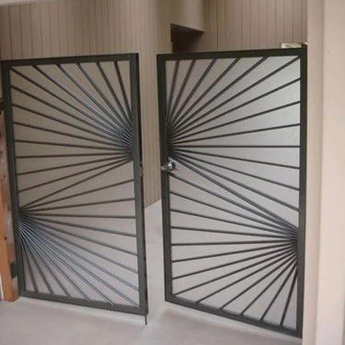 Charmant Mild Steel Double Door Gate