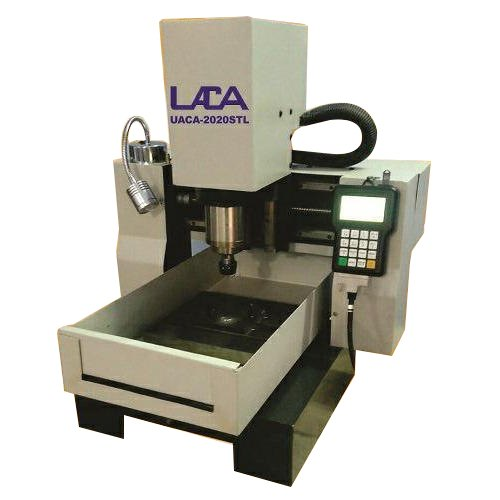 Automatic Carbon Steel Table Top CNC Engraving Machine, 1 ...