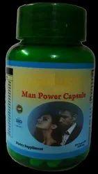 Boost Energy Man Power Capsule Herbal, Grade Standard: Food Grade, Packaging Size: 60 Capsuls