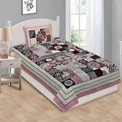 Sanganeri Print Single Bedsheet