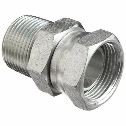 Adapters SS Hydraulic Pipe Fitting Adapter, Material Grade: SS304, Packaging Type: Box