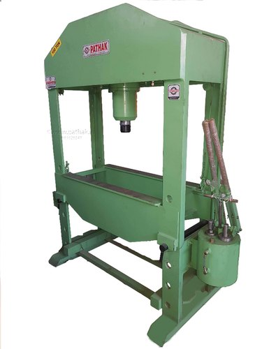 Hand Operated Hydraulic Press (100 Ton Capacity)