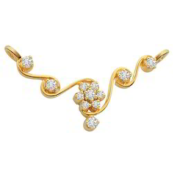 18k Gold Necklace Pendant
