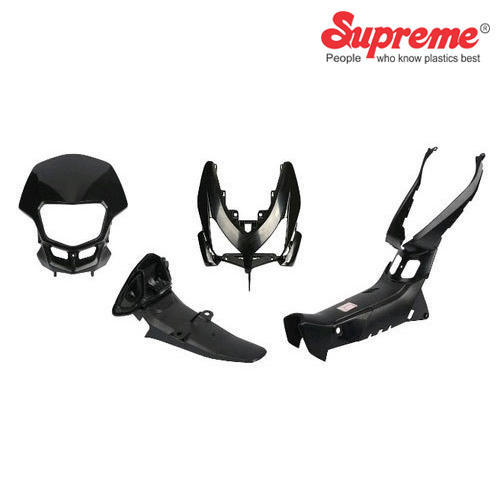 Supreme Plastic Molded Parts for Two Wheeler