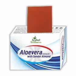 Aloevera Sandal Almond Soap