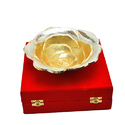 Silver & Gold Plated Rose Bowl