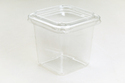 Stc Transparent Pet Food Packaging Container/deli Container