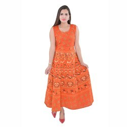 Cotton Night Wear Long Dress