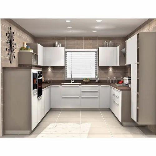 Sleek World Trendy U Shaped Modern Kitchen, Kitchen ...