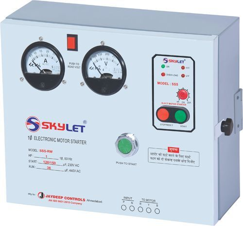 SKYLET Single Phase Electronic Motor Starter SSS-RW, Power: Up to 3 hp