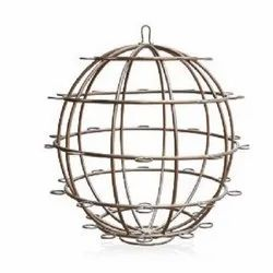 Round Net Candle Stand