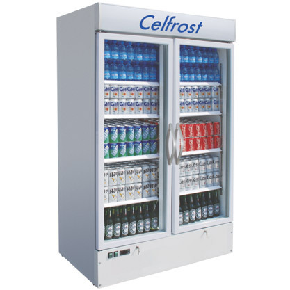 Celfrost Electricity Two Door Visi Cooler 950 Ltrs Rs