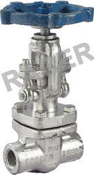 Socket Weld End Forge Steel Gate Valve