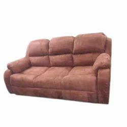 Brown Suede Sofa Set Rs 40000