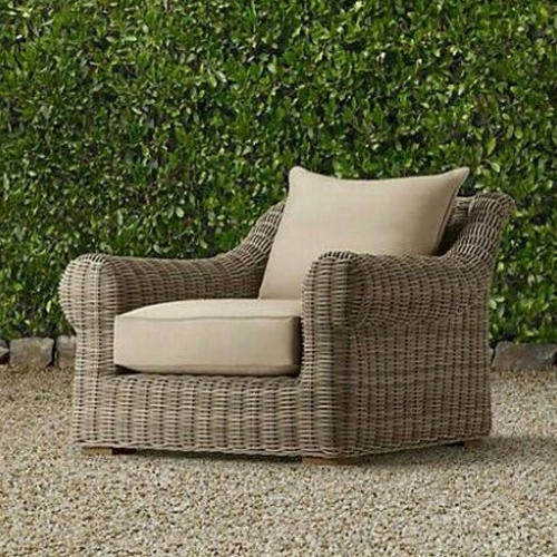 Wicker Garden Sofa