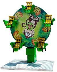 Monkey Ferris Wheel Amusement Ride Game