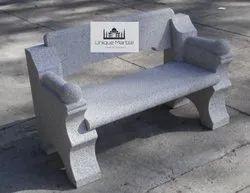 Grey Granite Bench Arm Handle