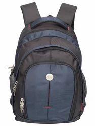 Black & Navy Blue Renault Big Backpack Bag