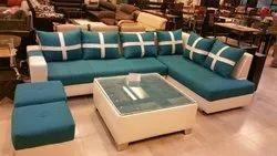 gujjubazar peacock green Sofa Lounger full set, for Home, Size: Modern