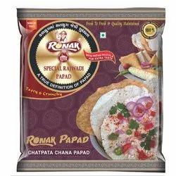 3 Month Ronak Chatpata Chana Papad, 500gm, Packet