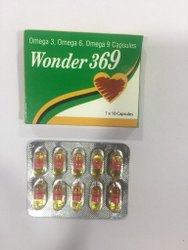 Omega Capsules Wonder 369, For Vitamin Deficiency