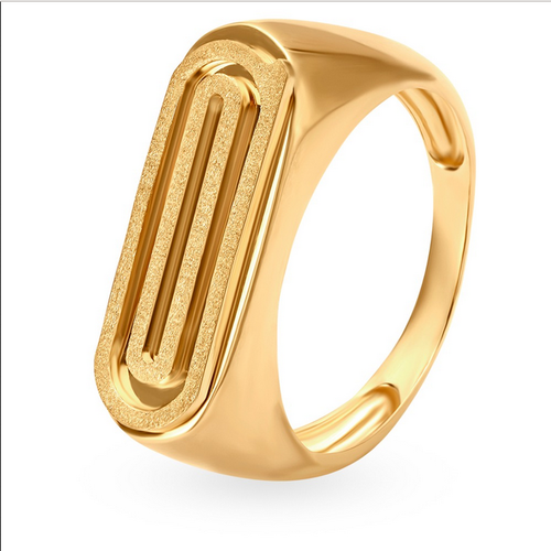 Tanishq 18kt Yellow Gold Finger Ring For Men 502617ferraa00
