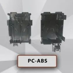 Black Coated Plastic Injection Molding Parts