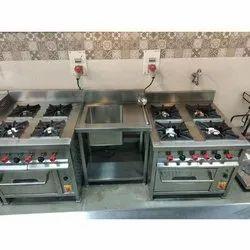 4 Burner Gas Range Oven