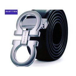 Hautton Formal Wear Men Leather Belt