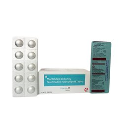 Fexofenadine 120 mg Montelukast 10 mg Tablets