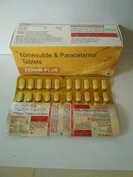 ZIONIM PLUS ZIONIM-PLUS Tab, Treatment: Analgesic, Antipyritic